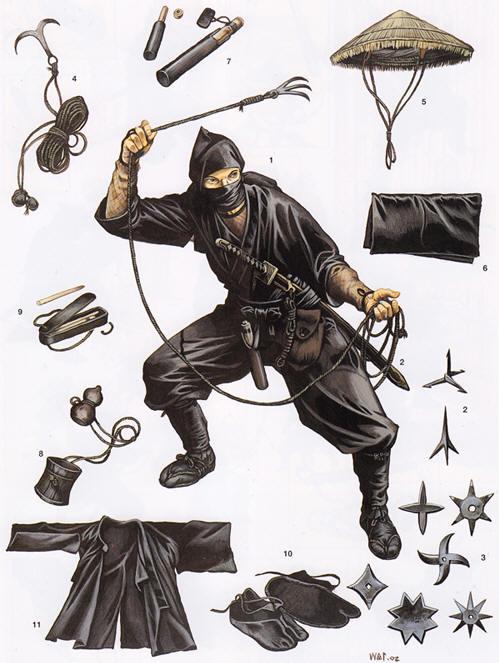 Ninja Gear